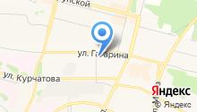Государственный медицинский колледж г. Братска на карте