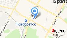 Братский ломбард на карте
