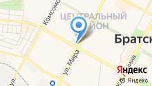 Байкалтур на карте