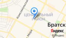 Братскгражданпроект на карте