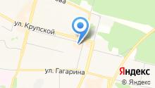 Galant на карте