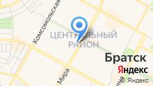 ЗАГС Центрального района на карте