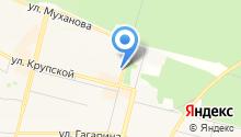 Банкомат, Братский акционерный народный коммерческий банк, ПАО на карте