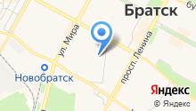 Братск-автотранс на карте