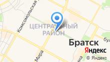 Босяков на карте
