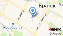 Главное бюро медико-социальной экспертизы по Иркутской области на карте