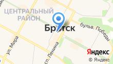 Департамент по обеспечению безопасности населения Администрации г. Братска на карте