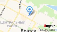 Братские коммунальные системы на карте