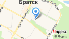Школа каратэ на карте