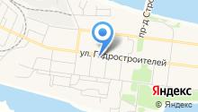 Всероссийское общество инвалидов Падунского округа г. Братска на карте