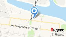 Глобус-полиграфия на карте