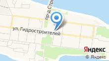 Братскгэсстрой на карте