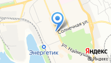 Банкомат, Братский Акционерный Народный коммерческий Банк на карте
