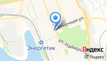 Братская служба недвижимости на карте