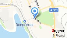 Дворец искусств г. Братска на карте