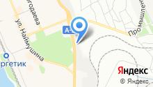 Автомагистраль-Сибирь на карте
