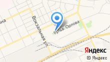 Братск-ВОЯЖ на карте