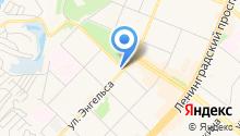 Ангара-курьер на карте