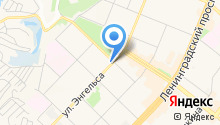 Ангара курьер на карте
