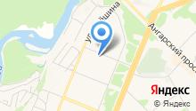 Ангарское строительное управление на карте