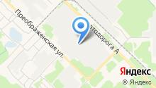 Ангарск-Профиль на карте