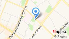 Ангарский техникум общественного питания и торговли на карте