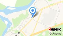 Автостоянка на ул. Покровского на карте