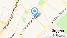 Аптека Радуга на карте