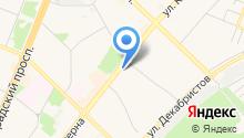 Бюро вакансий на карте