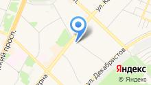 Белореченский на карте
