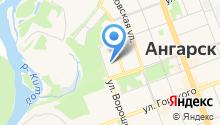 Ангарский медицинский колледж на карте