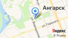 Ангарский городской суд Иркутской области на карте