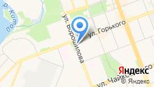 Академическая на карте