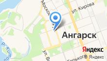 Ангарский банно-прачечный комплекс на карте