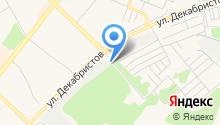 Автоэлектрика на Ангарском на карте
