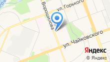 IRIS на карте