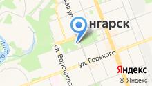Ангарский детский зоопарк на карте