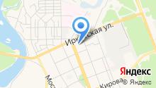 Ангарская областная психиатрическая больница на карте