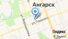 Ангарск-Артист на карте