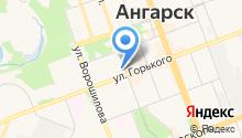Ангарский лицей №1 на карте