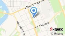 Ангарская городская общественная организация инвалидов на карте