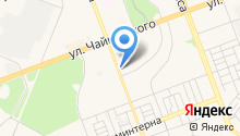 Ангарчанка на карте