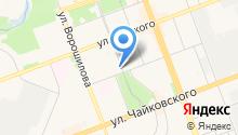 Ангарский Клубный Дом для инвалидов-душевнобольных на карте