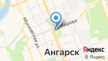Ангарский политехнический техникум на карте