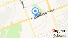 Ангарск-окна Теплоff на карте