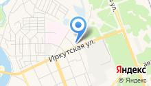Белореченское на карте