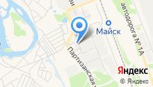 Ангарская станция по борьбе с болезнями животных, ГБУ на карте