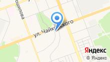 Автостоянка на ул. 93-й квартал на карте