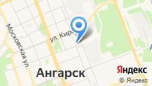 Ангарский водоканал, МУП на карте