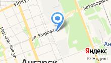ВАРИАНТ-АСС на карте
